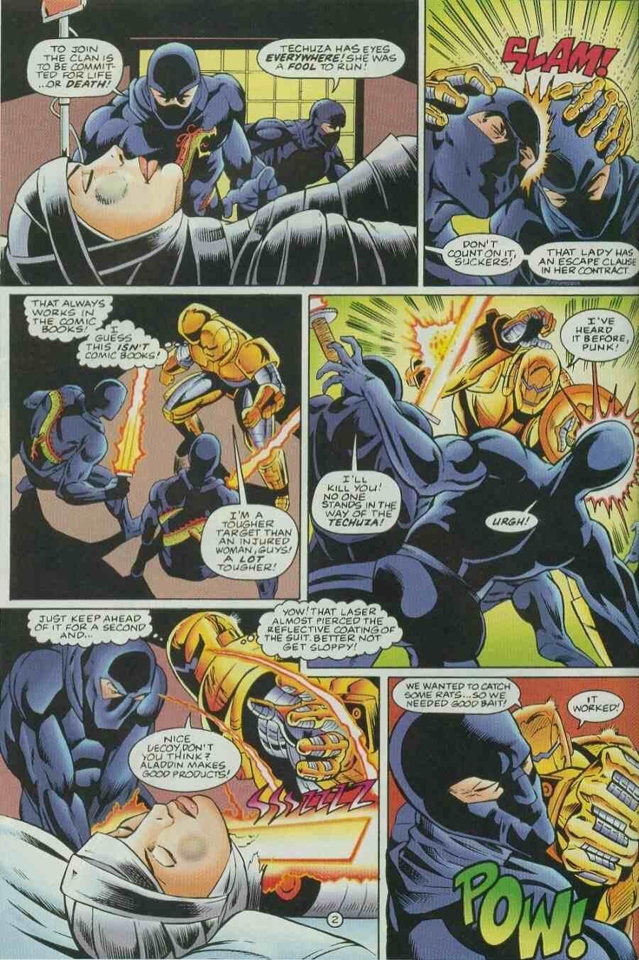 Read online Ultraverse Premiere comic -  Issue #9 - 16