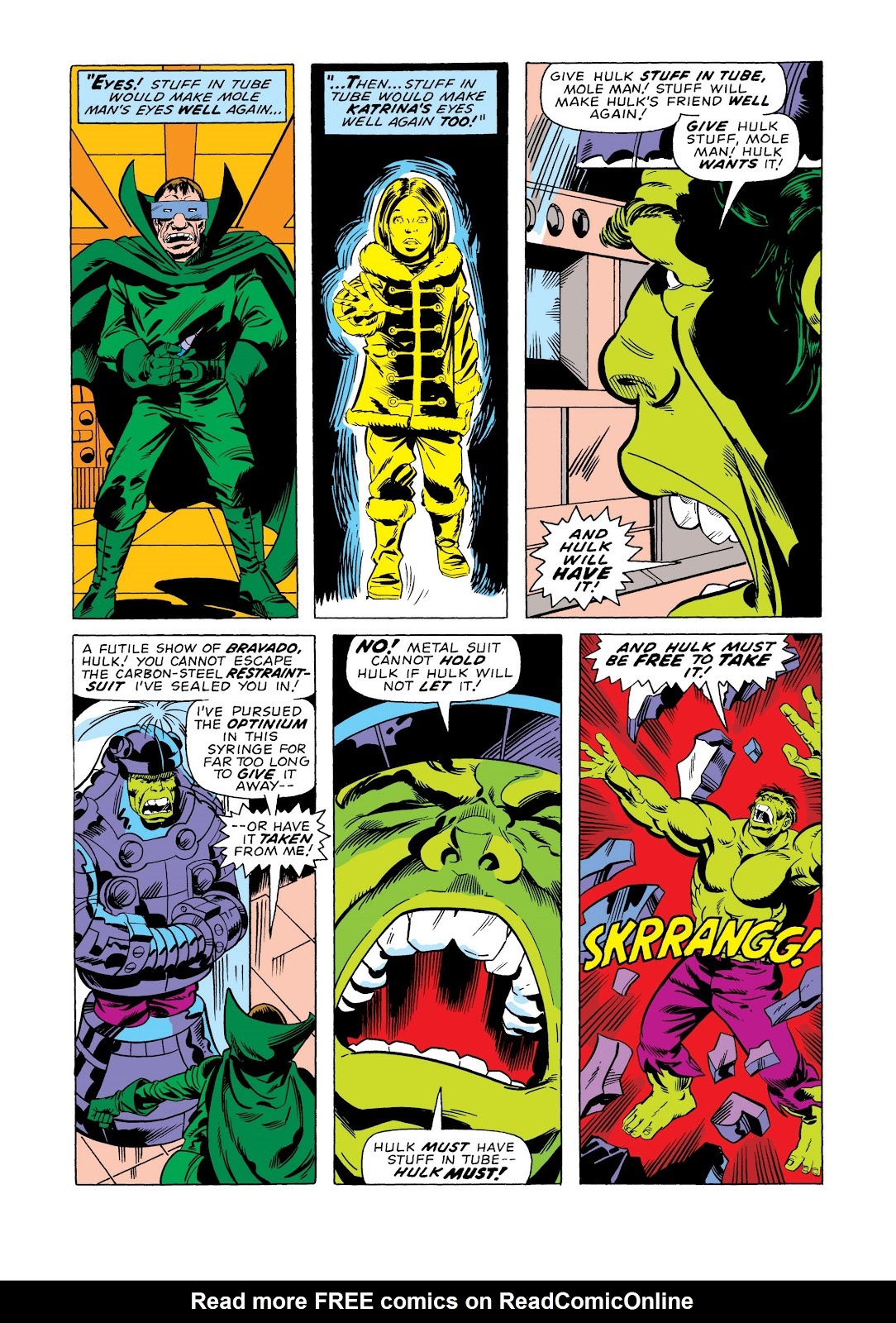 Read online Marvel Masterworks: The Incredible Hulk comic -  Issue # TPB 11 (Part 2) - 13