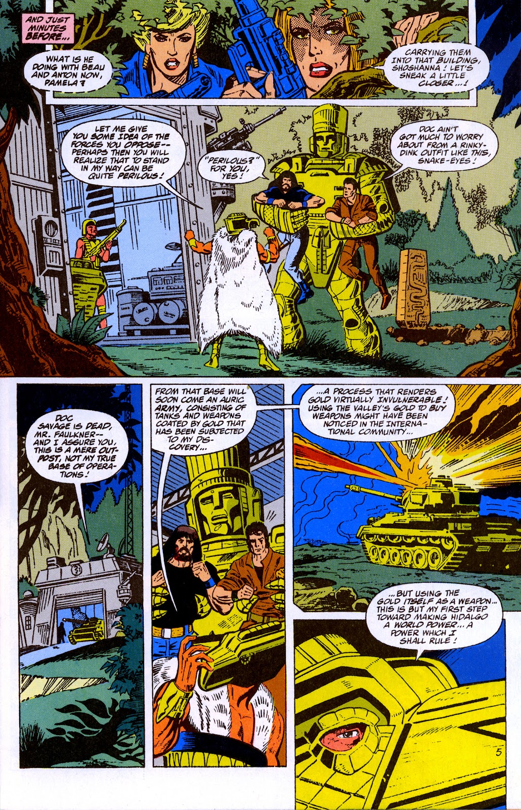 Doc Savage (1988) issue 10 - Page 7