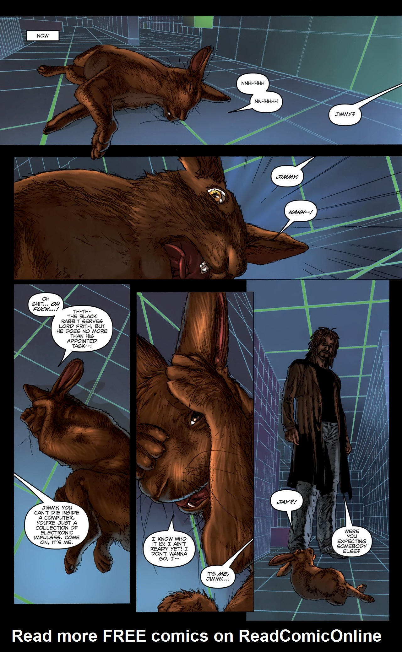 Read online Chronicles of Wormwood: The Last Battle comic -  Issue #6 - 9