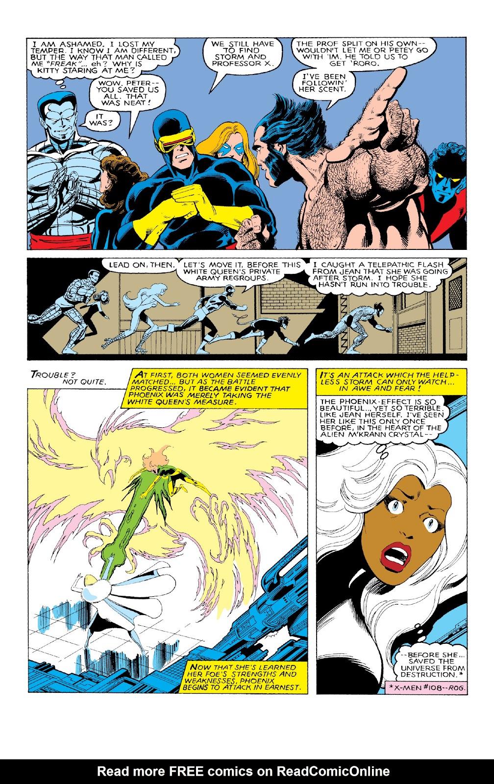 Read online X-Men Milestones: Dark Phoenix Saga comic -  Issue # TPB (Part 1) - 54