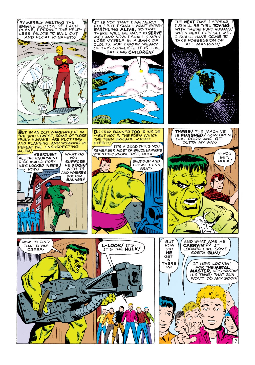 Read online Marvel Masterworks: The Incredible Hulk comic -  Issue # TPB 1 (Part 2) - 46