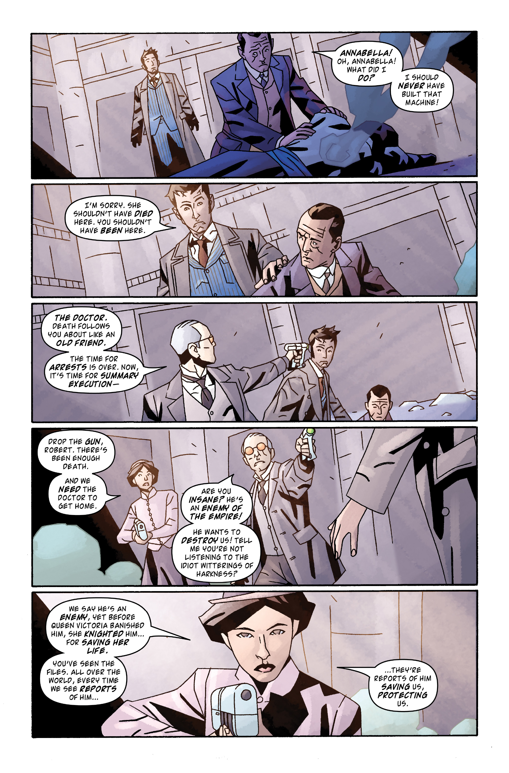 Read online Doctor Who: The Tenth Doctor Archives comic -  Issue #31 - 20