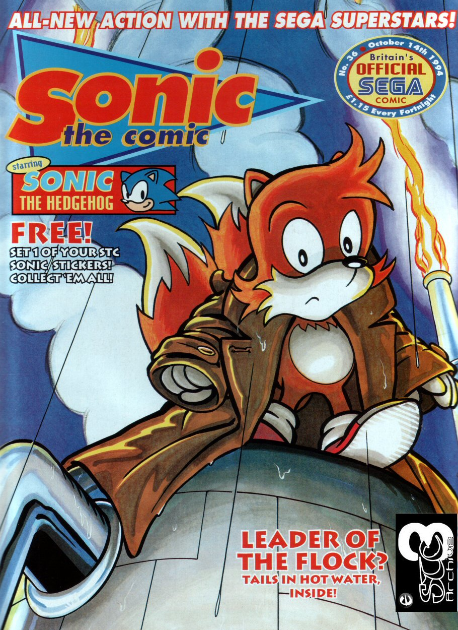 Read online Sonic the Comic comic -  Issue #36 - 1