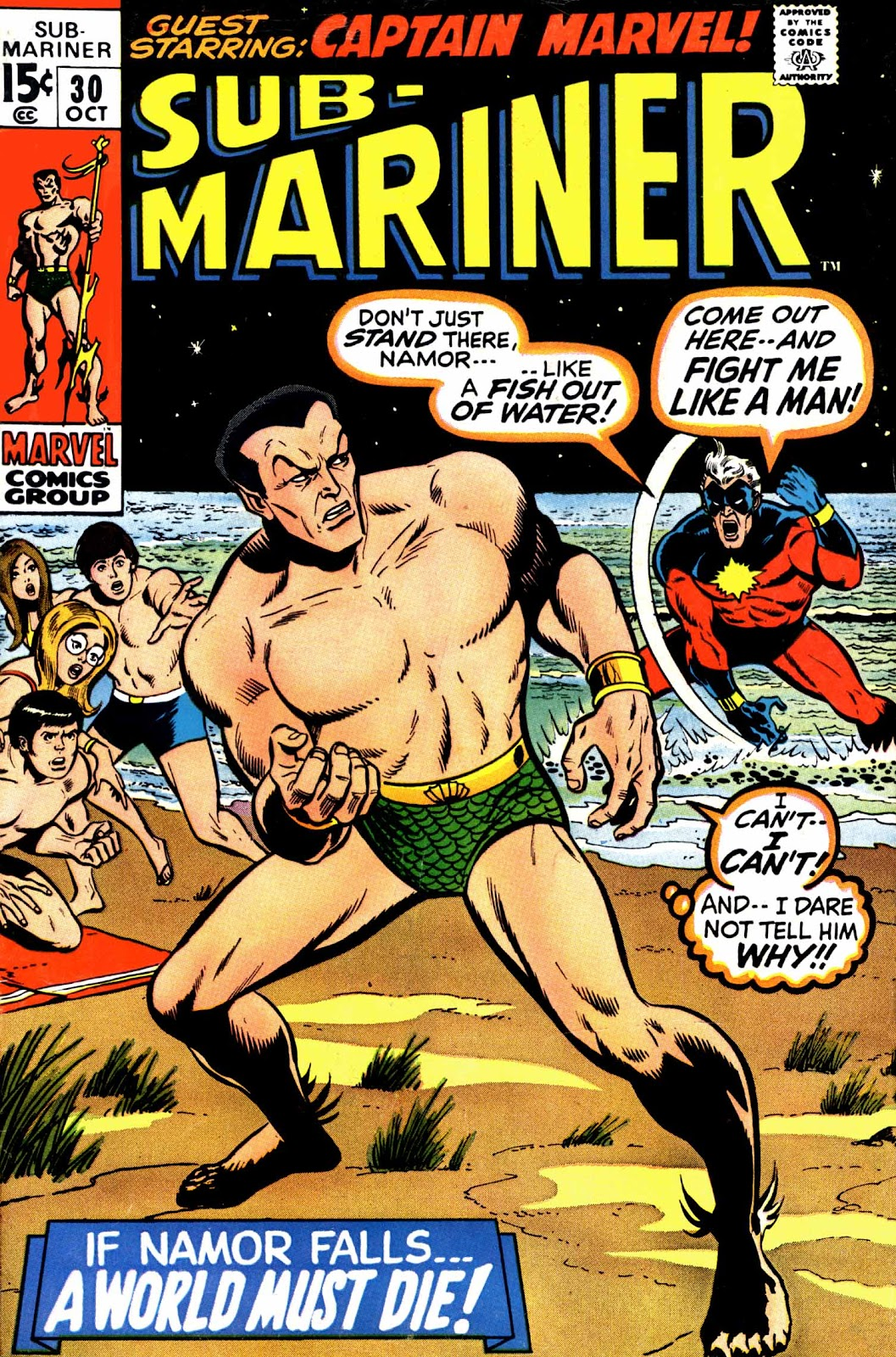 The Sub-Mariner 30 Page 1