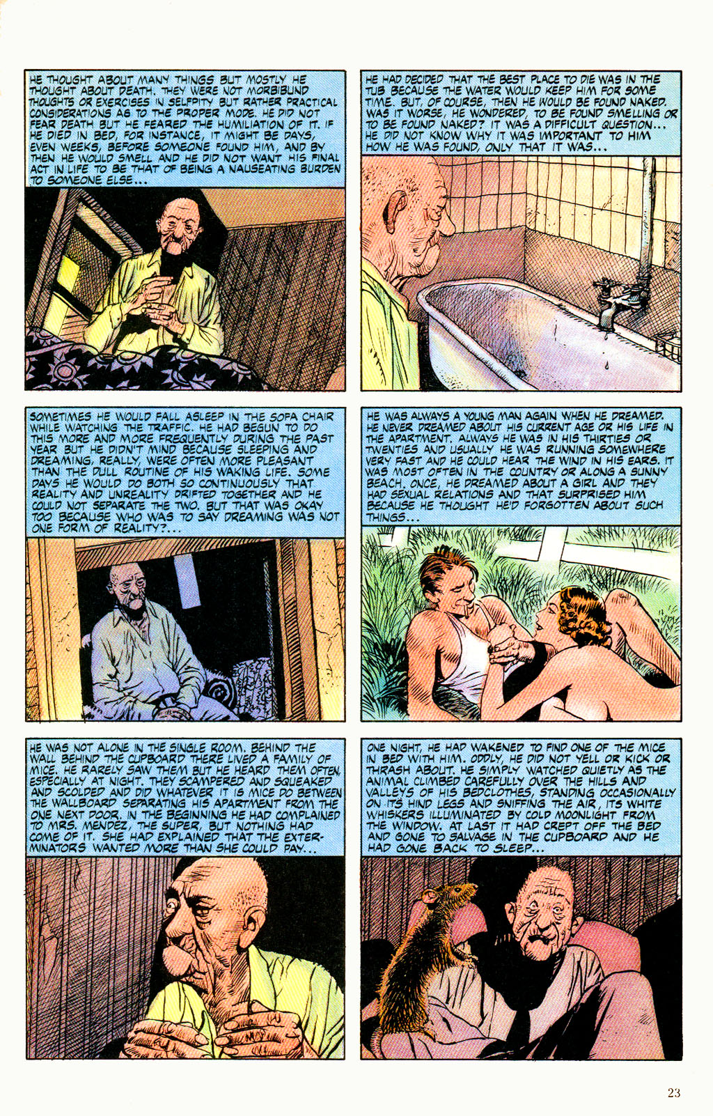 Read online Twisted Tales (1982) comic -  Issue #6 - 25