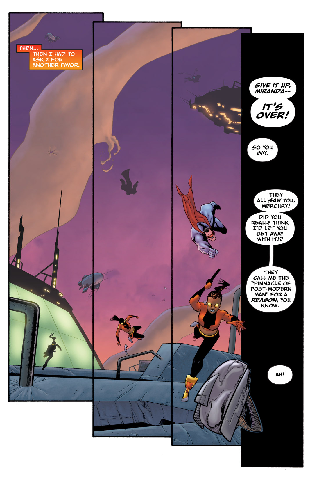 Read online The Many Adventures of Miranda Mercury: Time Runs Out comic -  Issue # TPB - 107