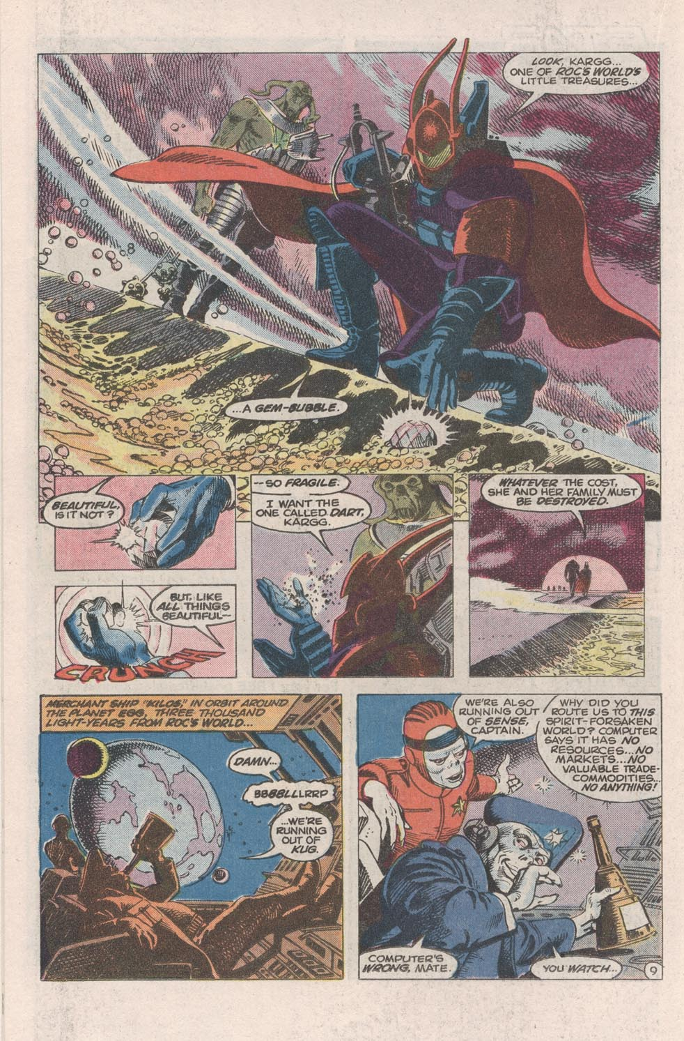 Read online Atari Force (1984) comic -  Issue #1 - 10