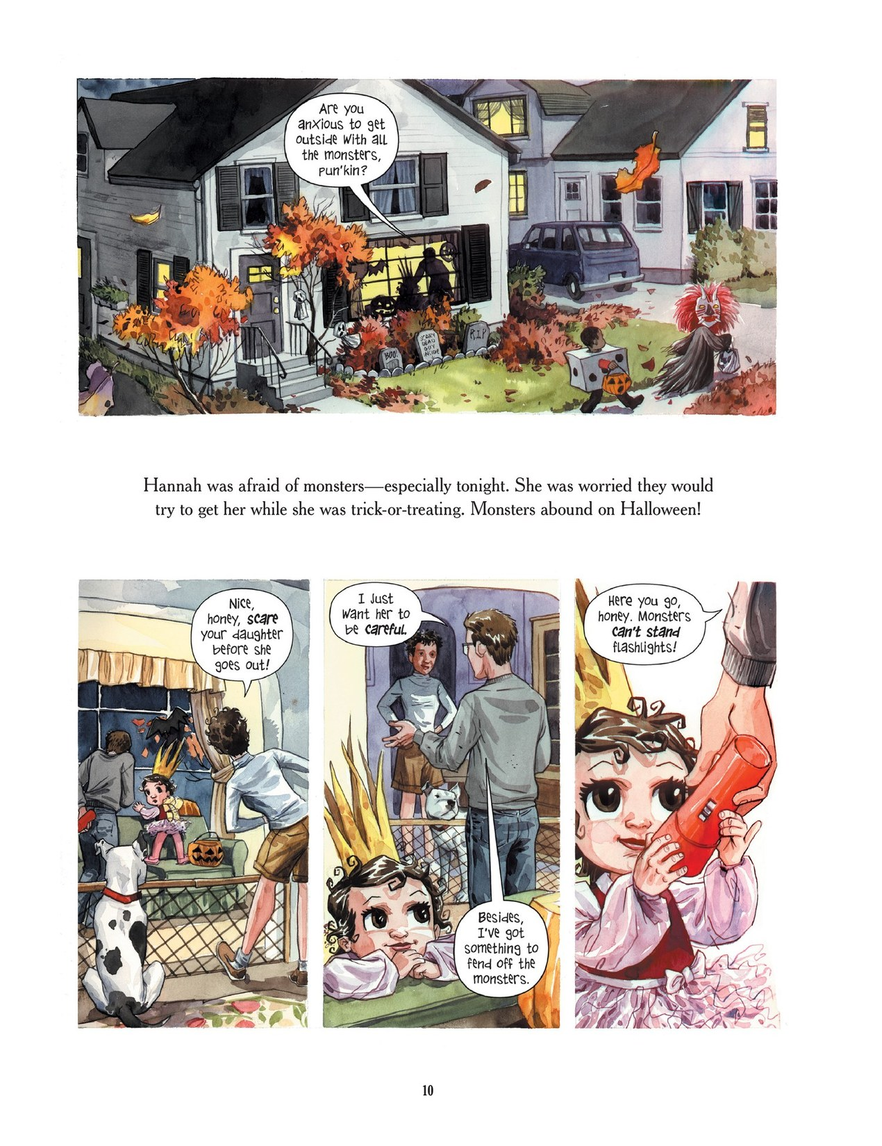 Read online Scary Godmother comic -  Issue # TPB - 10