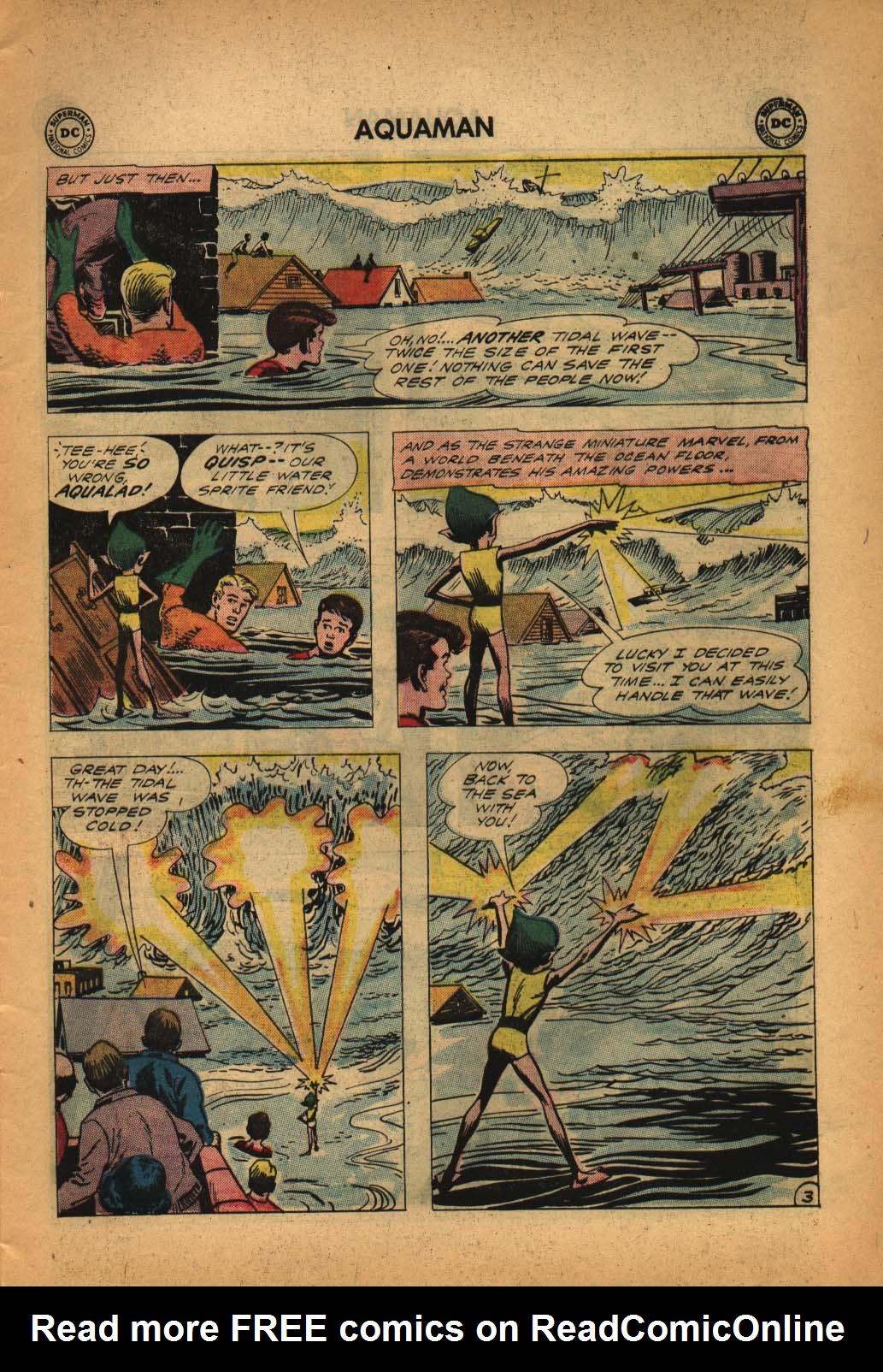 Read online Aquaman (1962) comic -  Issue #4 - 5