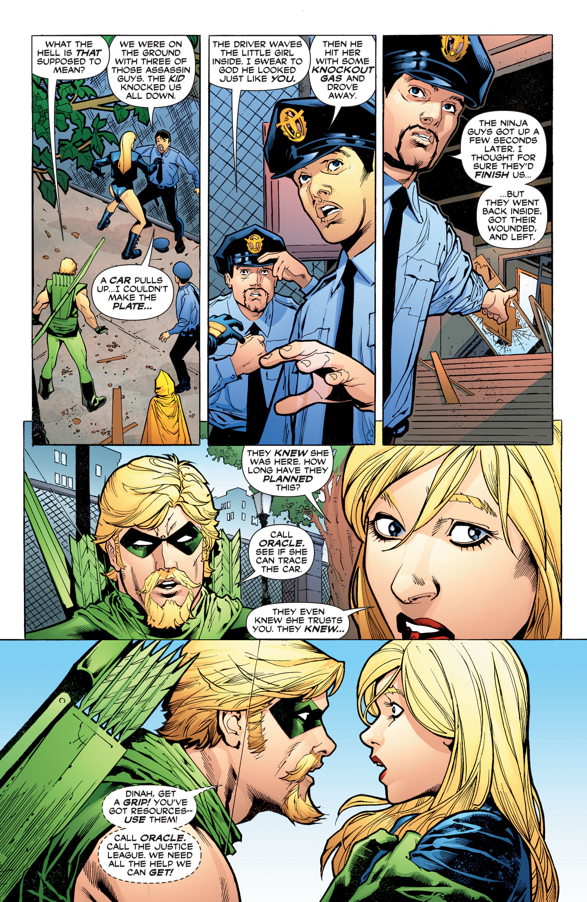 Read online Black Canary (2007) comic -  Issue #3 - 4