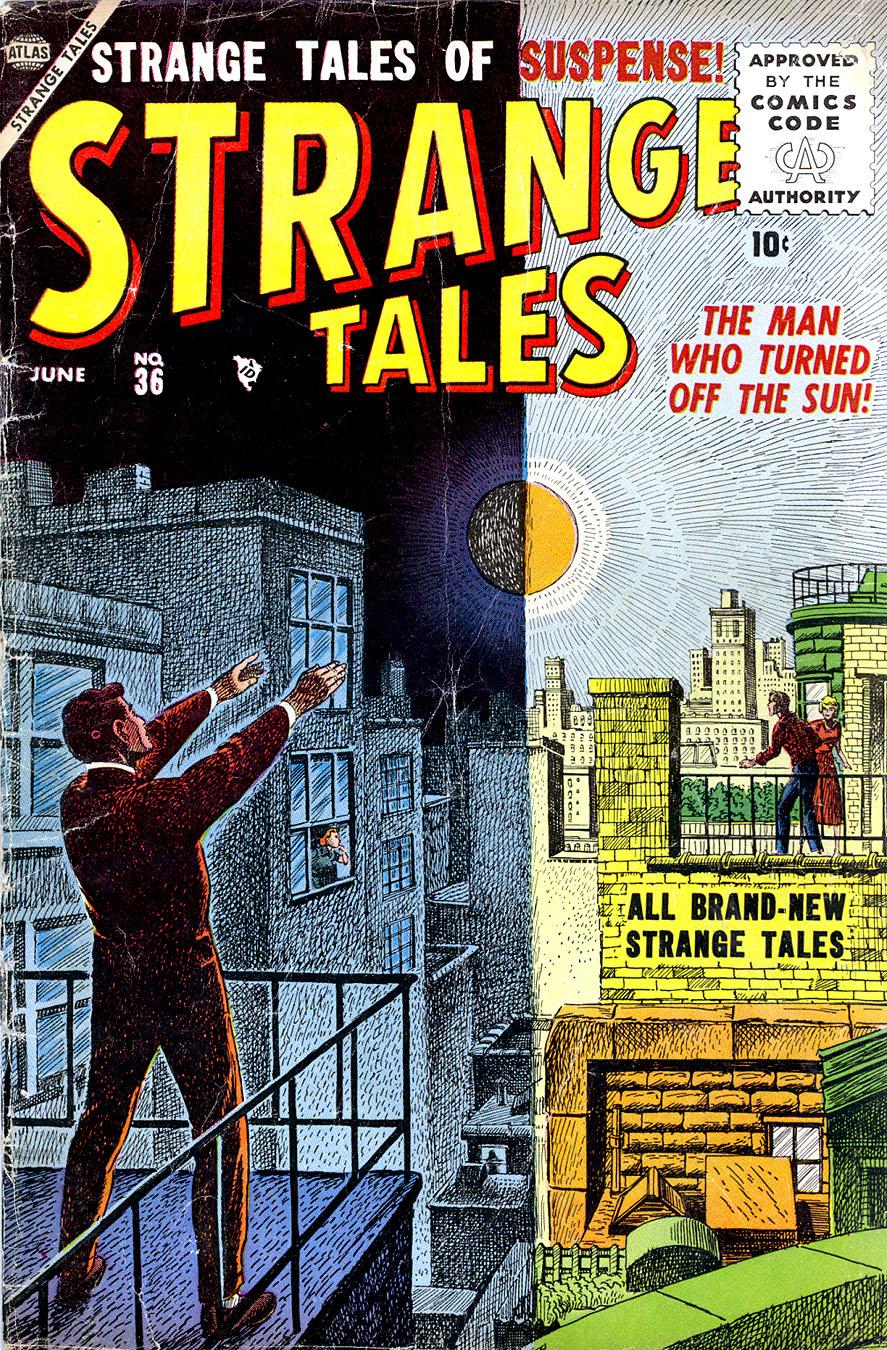 Strange Tales (1951) 36 Page 1
