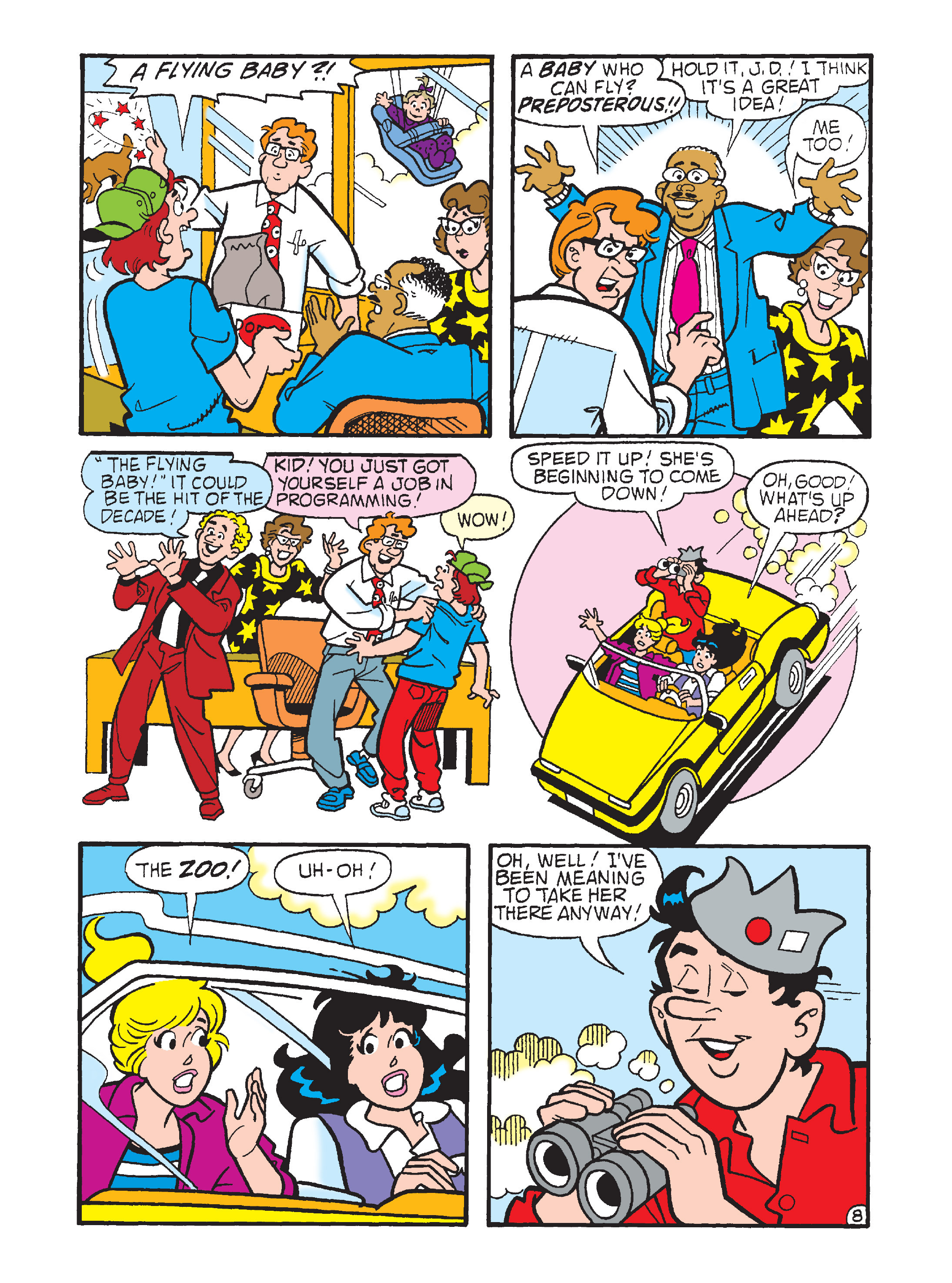 Read online Archie 75th Anniversary Digest comic -  Issue #3 - 163