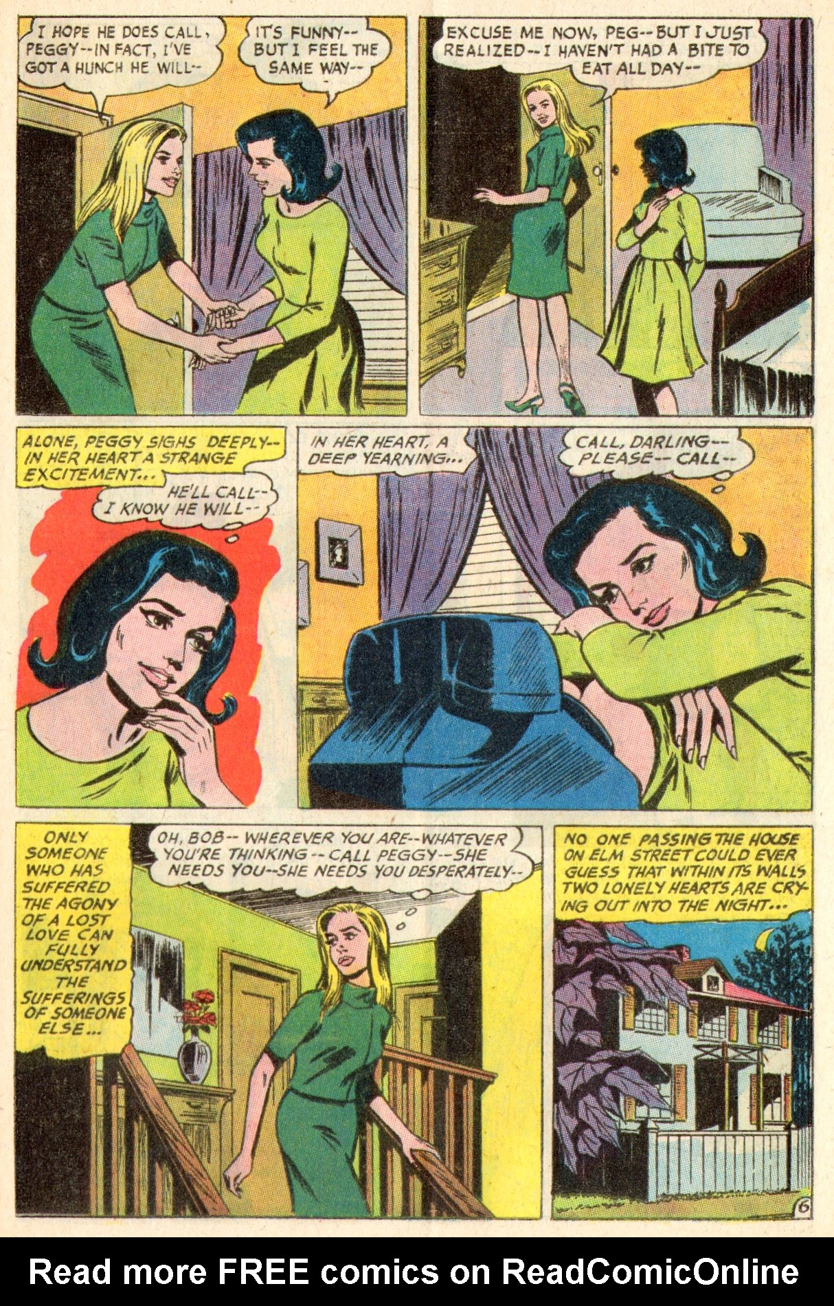 Read online Secret Hearts comic -  Issue #117 - 25