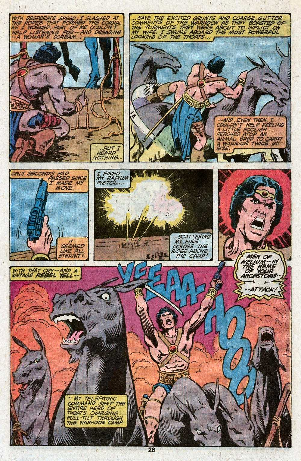 John Carter Warlord of Mars issue 27 - Page 28