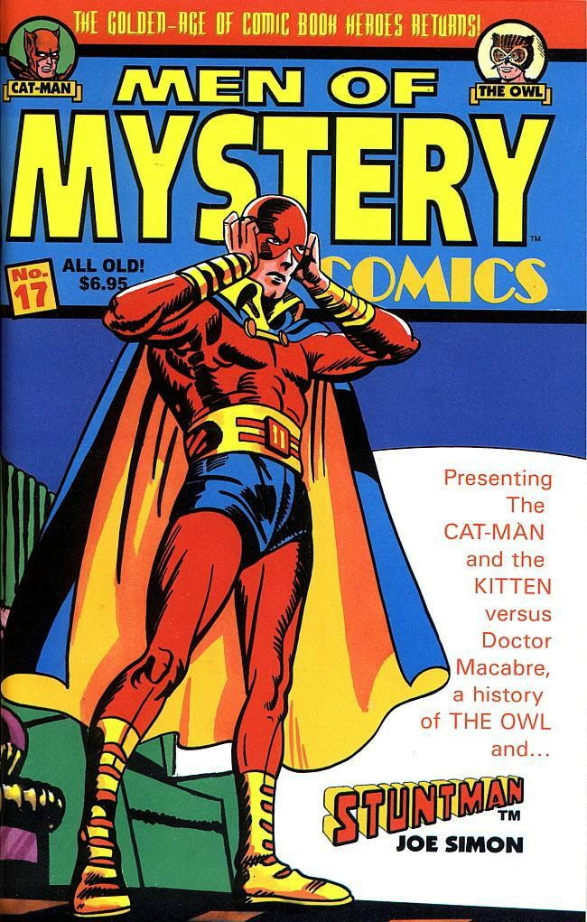 Read online Men of Mystery Comics comic -  Issue #17 - 1