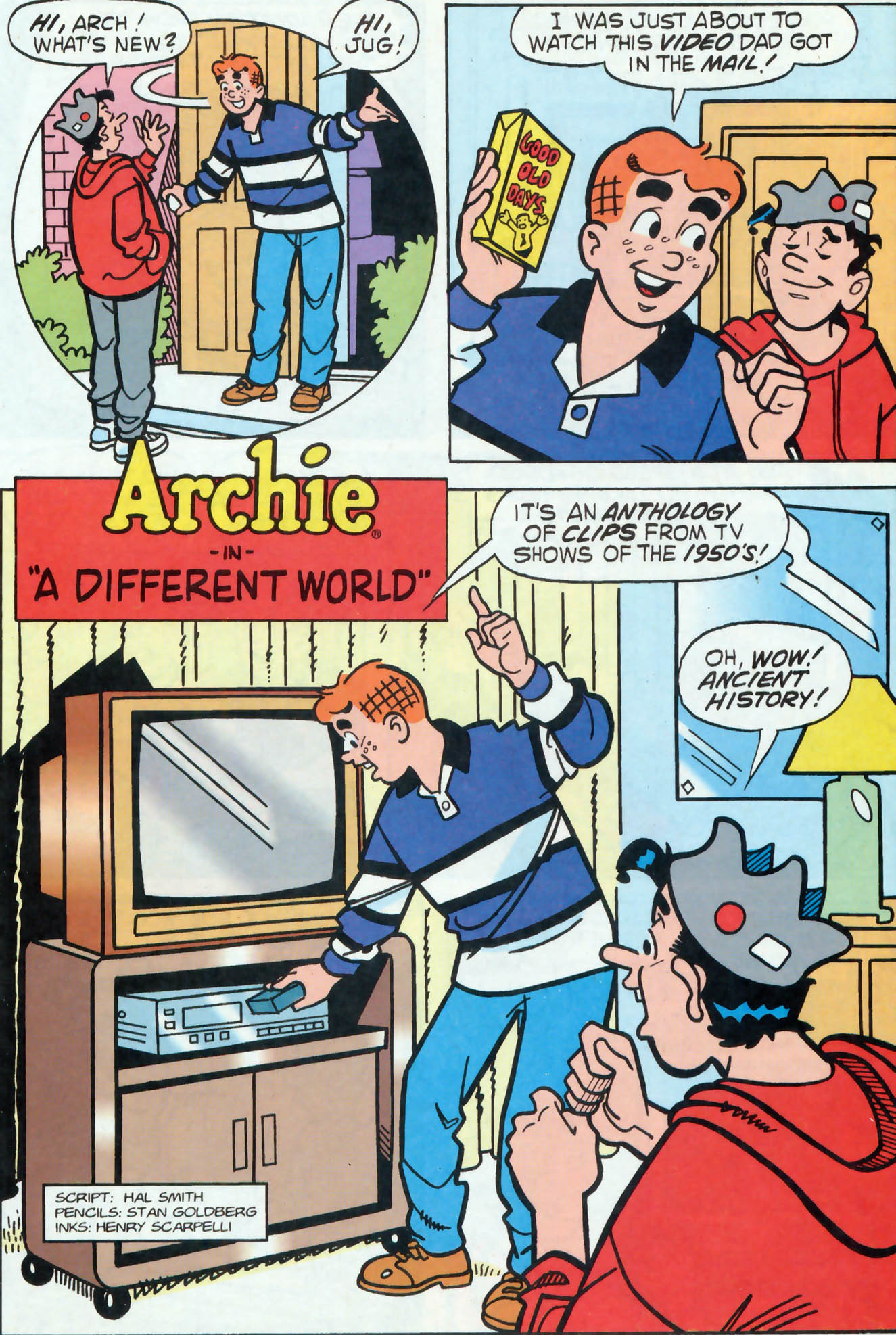 Read online Archie (1960) comic -  Issue #455 - 13