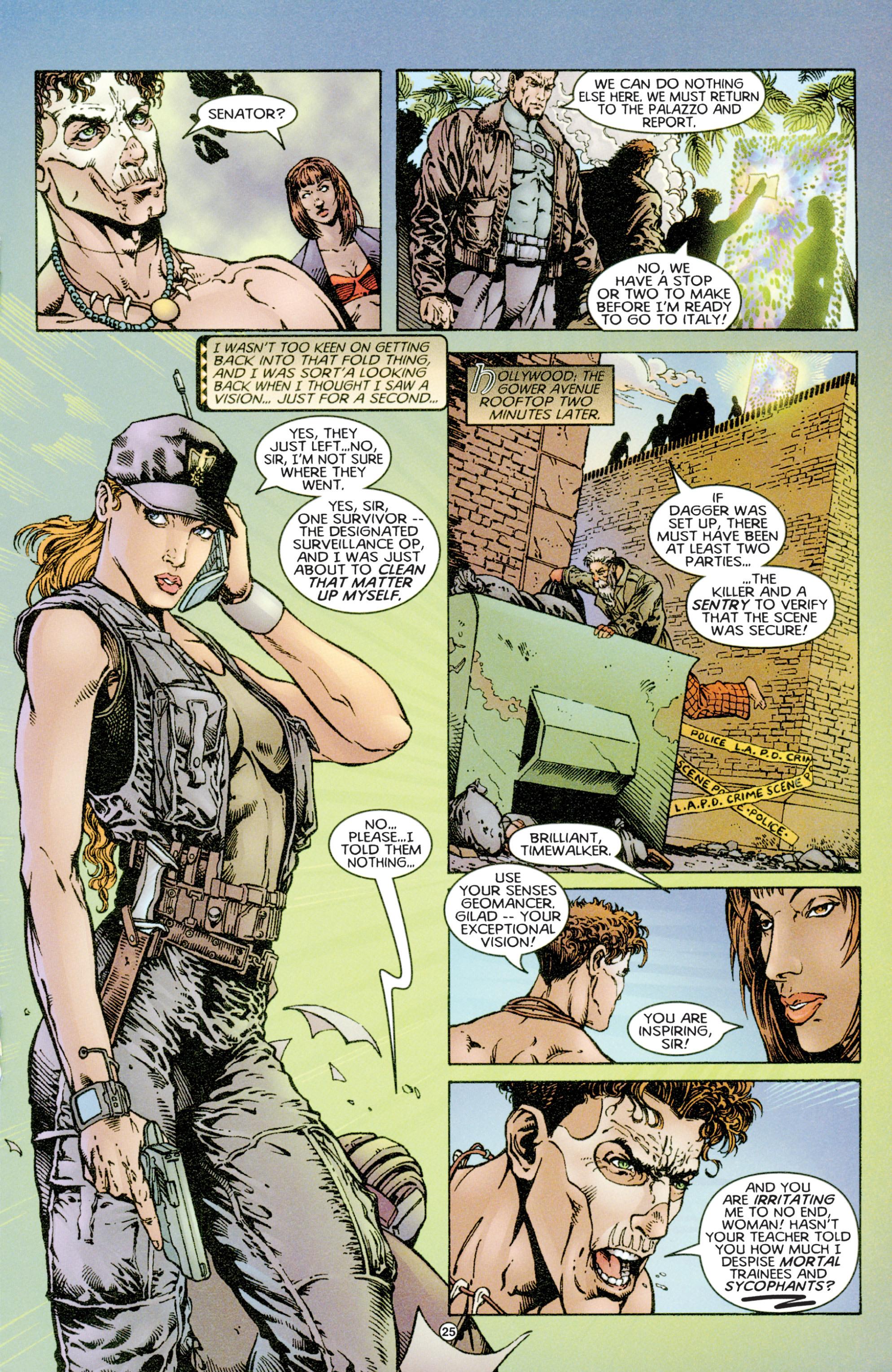Read online Eternal Warriors comic -  Issue # Issue Time & Treachery - 24