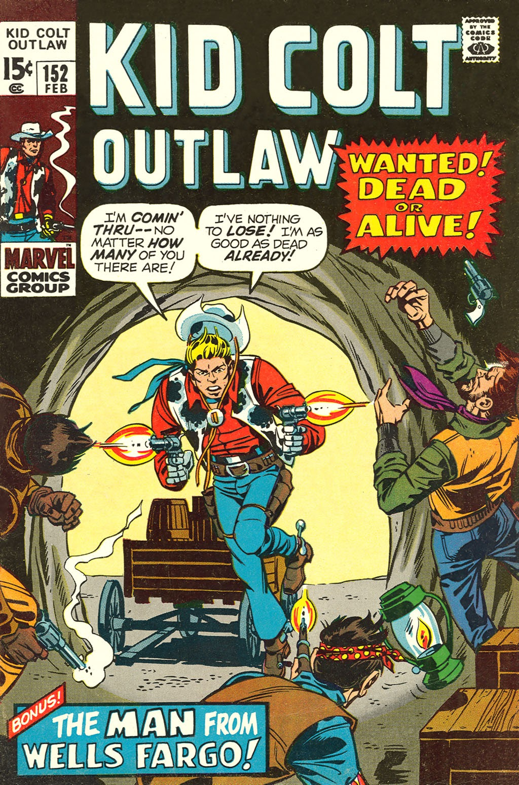 Kid Colt Outlaw issue 152 - Page 1