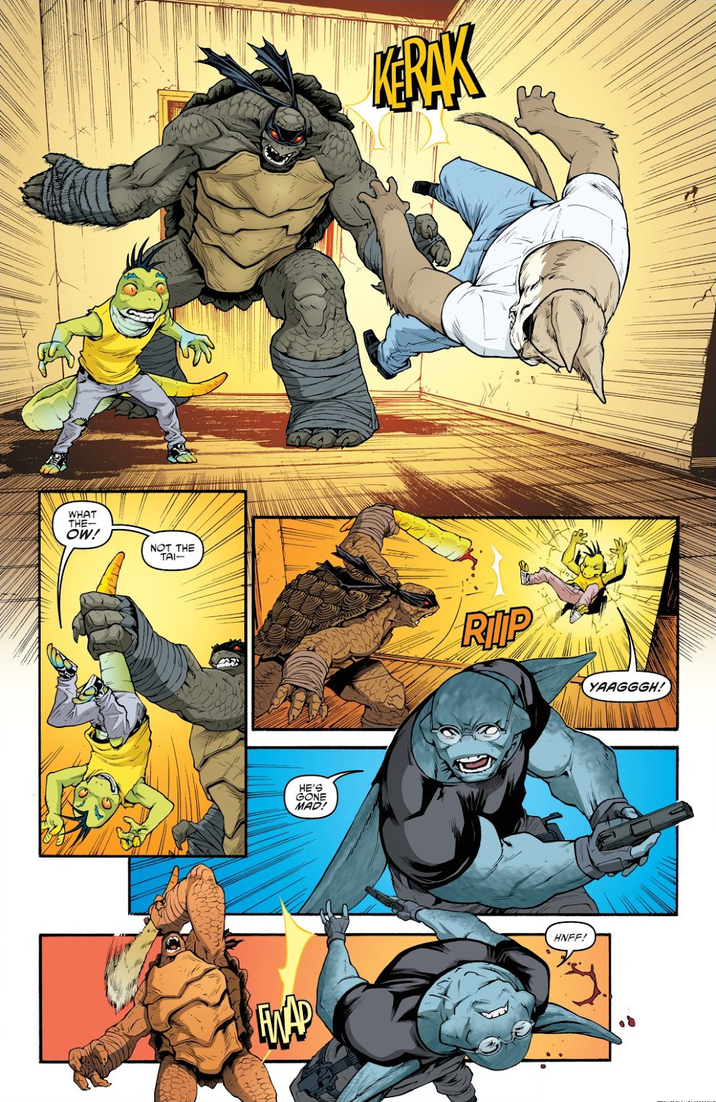 Read online Teenage Mutant Ninja Turtles: The IDW Collection comic -  Issue # TPB 9 (Part 1) - 23
