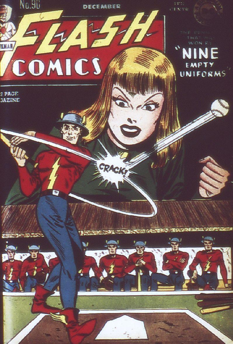 Flash Comics 90 Page 1