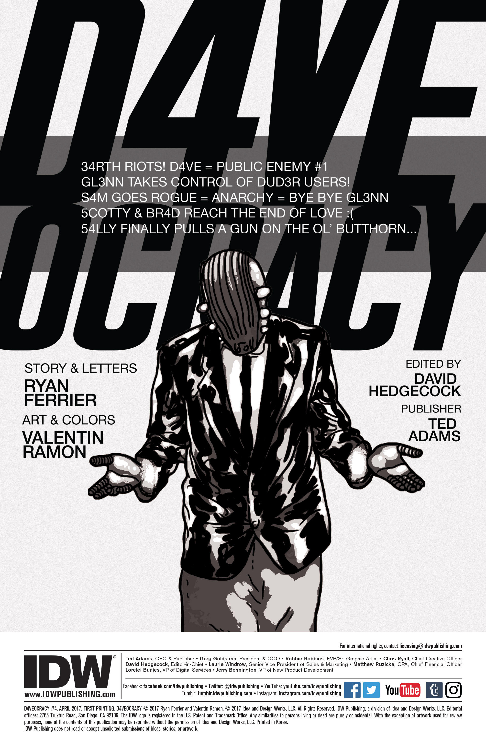 Read online D4VEocracy comic -  Issue #4 - 2