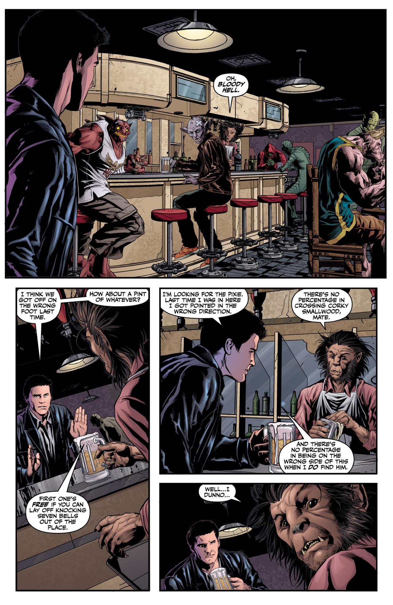 Read online Angel & Faith Season 10 comic -  Issue #2 - 10
