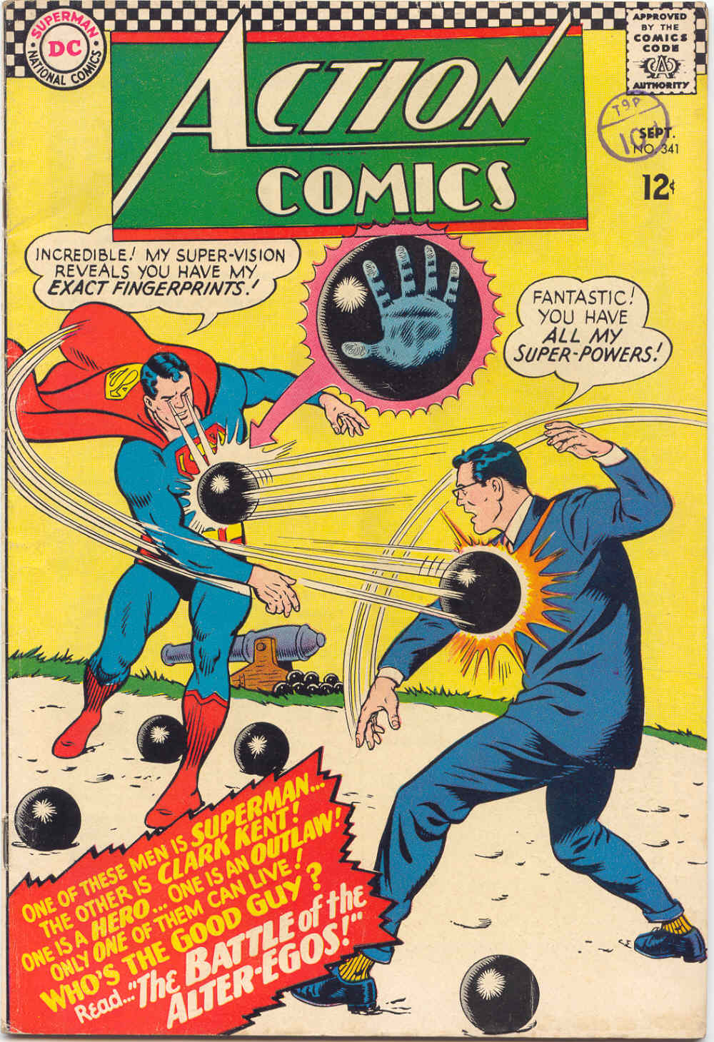 Read online Action Comics (1938) comic -  Issue #341 - 1