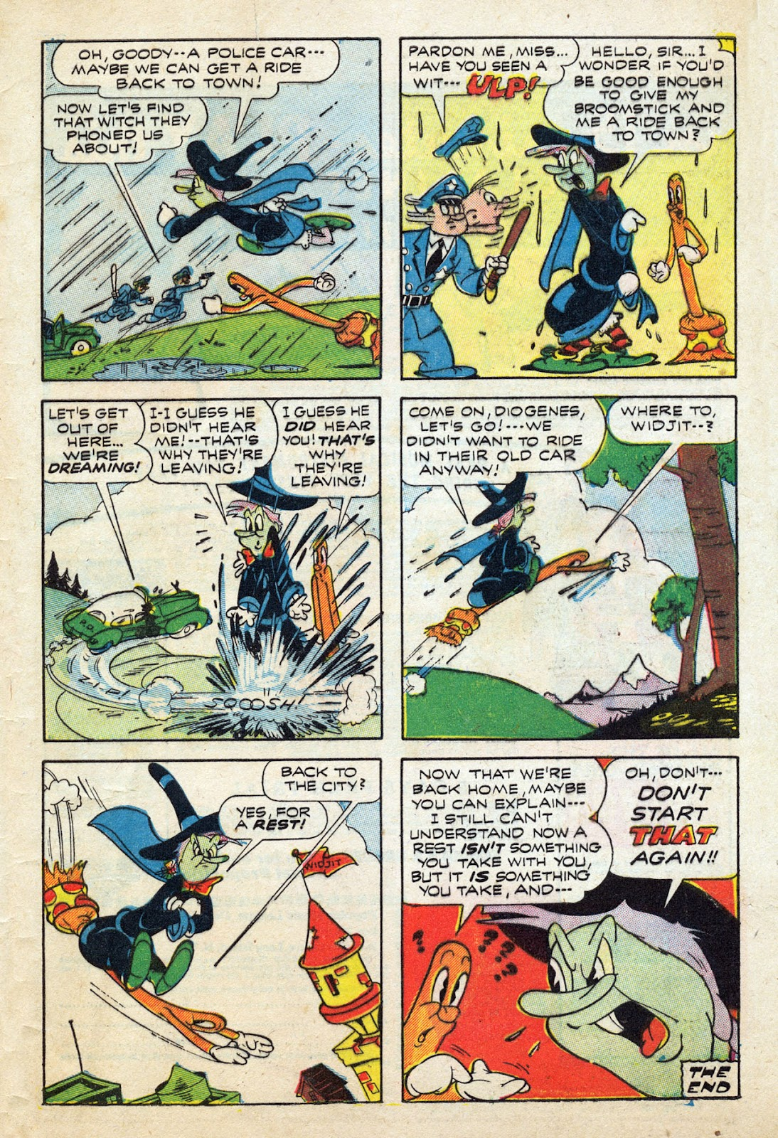Read online Comedy Comics (1942) comic -  Issue #24 - 48