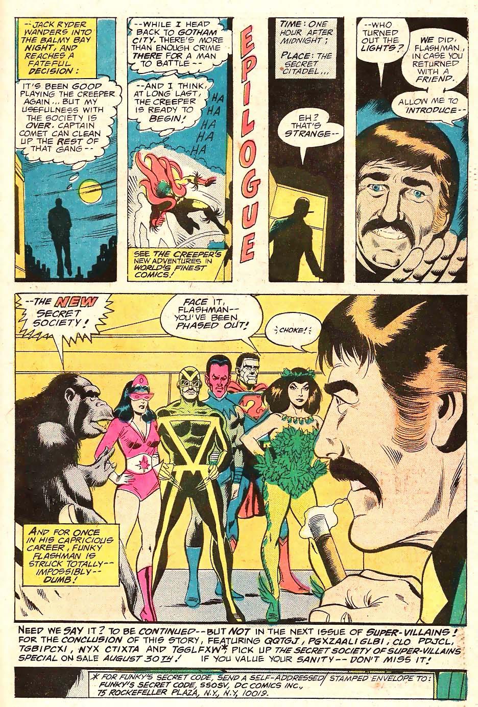 Read online Secret Society of Super-Villains comic -  Issue #10 - 18