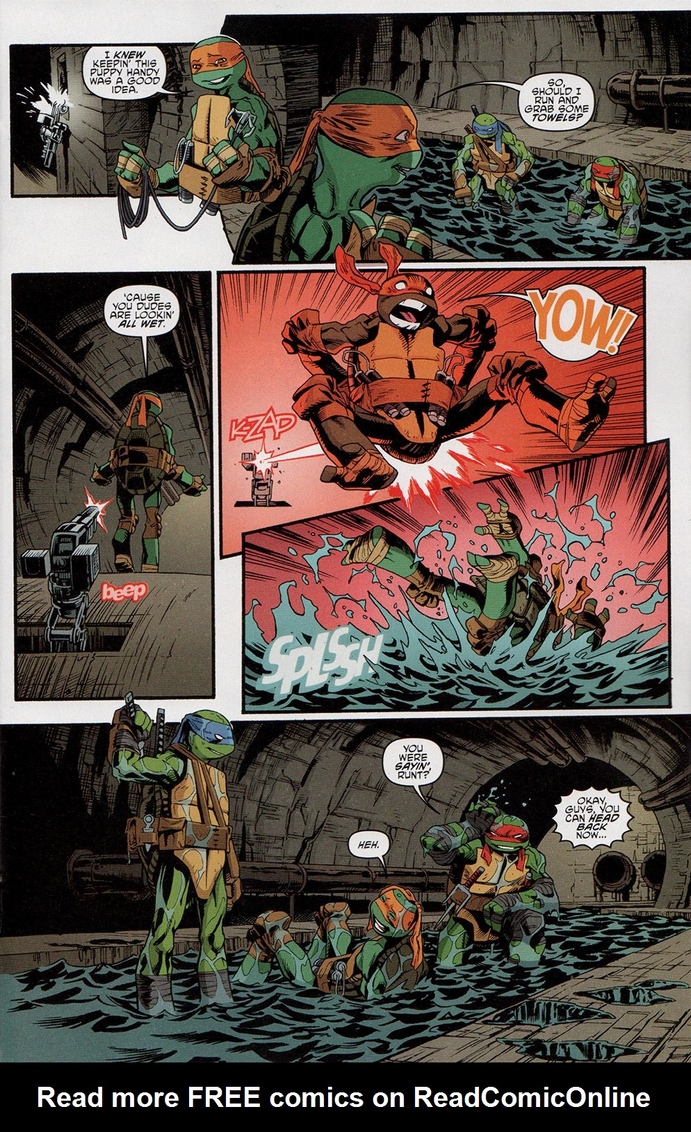 Read online Free Comic Book Day 2017 comic -  Issue # Teenage Mutant Ninja Turtles - 5