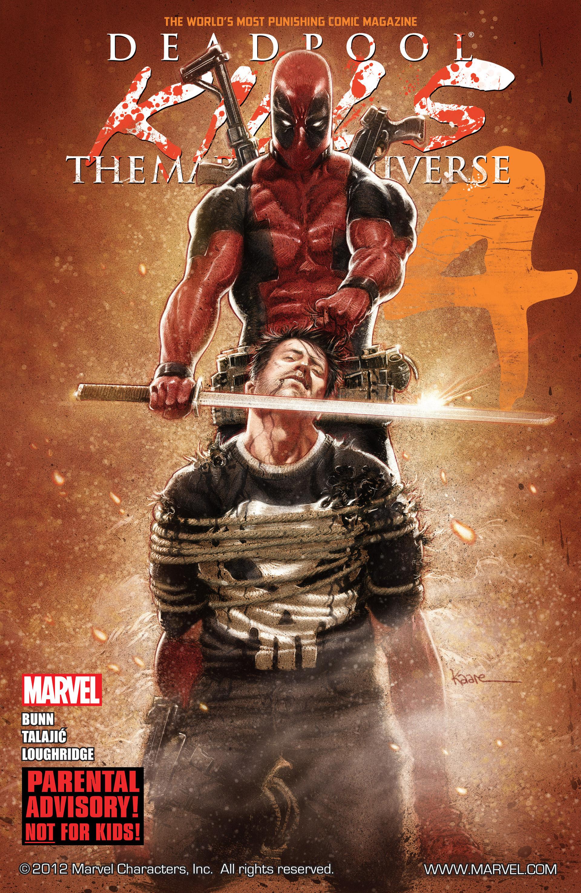 Deadpool Kills the Marvel Universe 4 Page 1