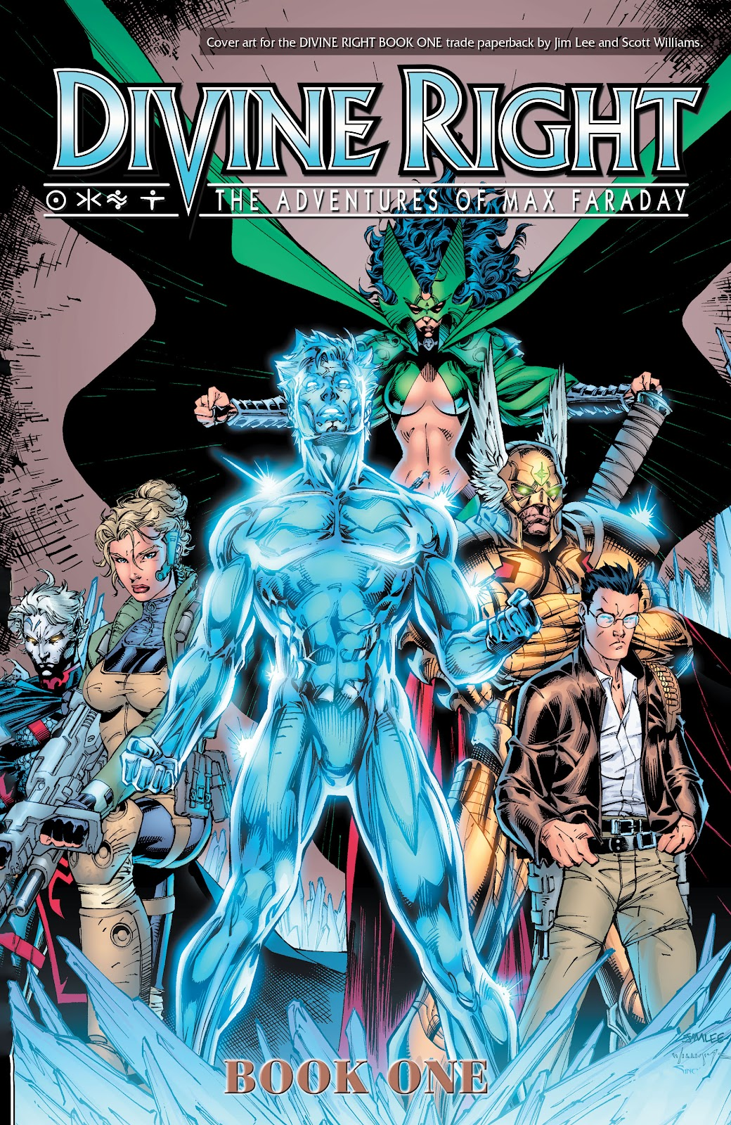 Read online Divine Right comic -  Issue # _TPB The Adventures of Max Faraday (Part 4) - 64