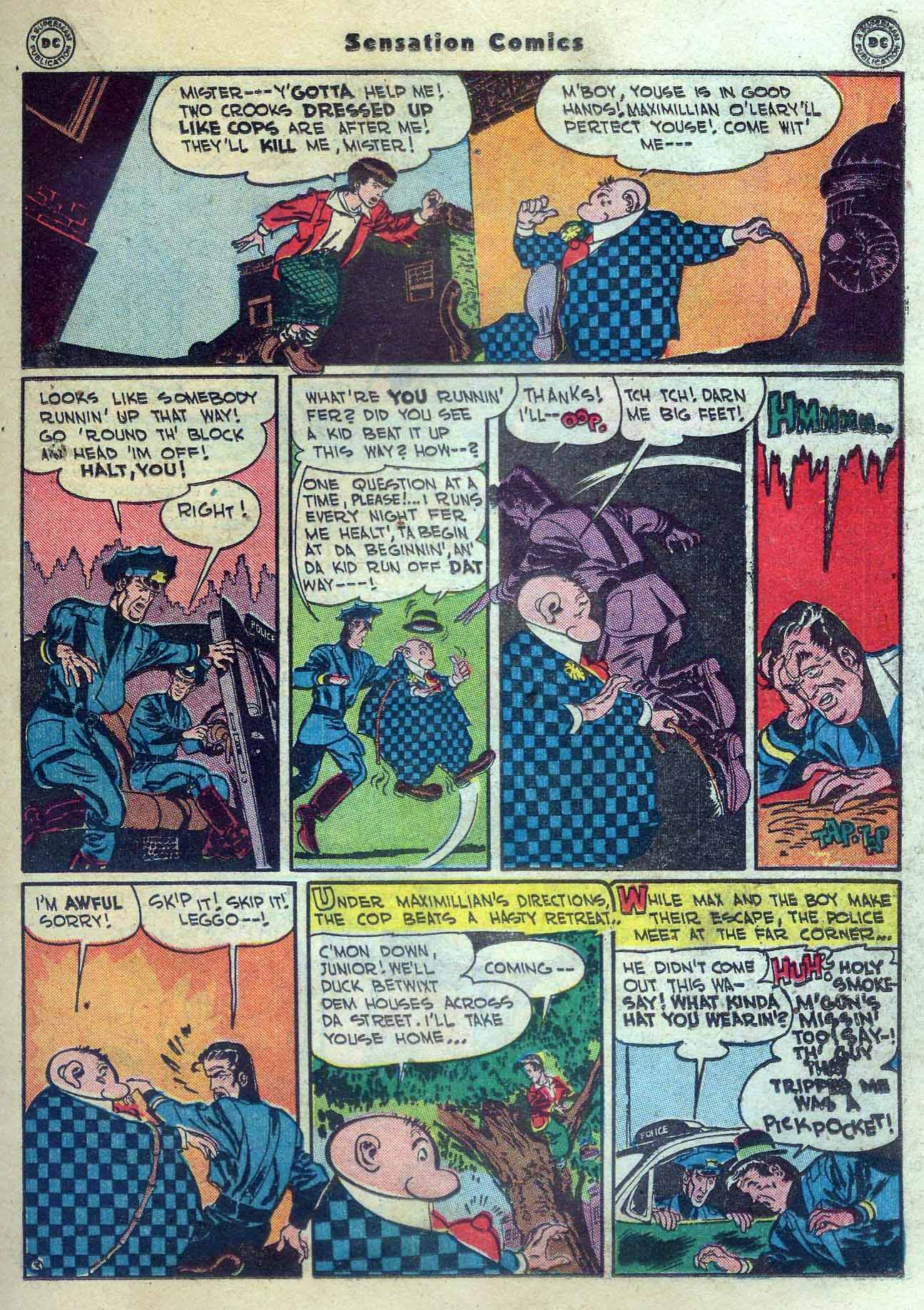 Read online Sensation (Mystery) Comics comic -  Issue #56 - 27