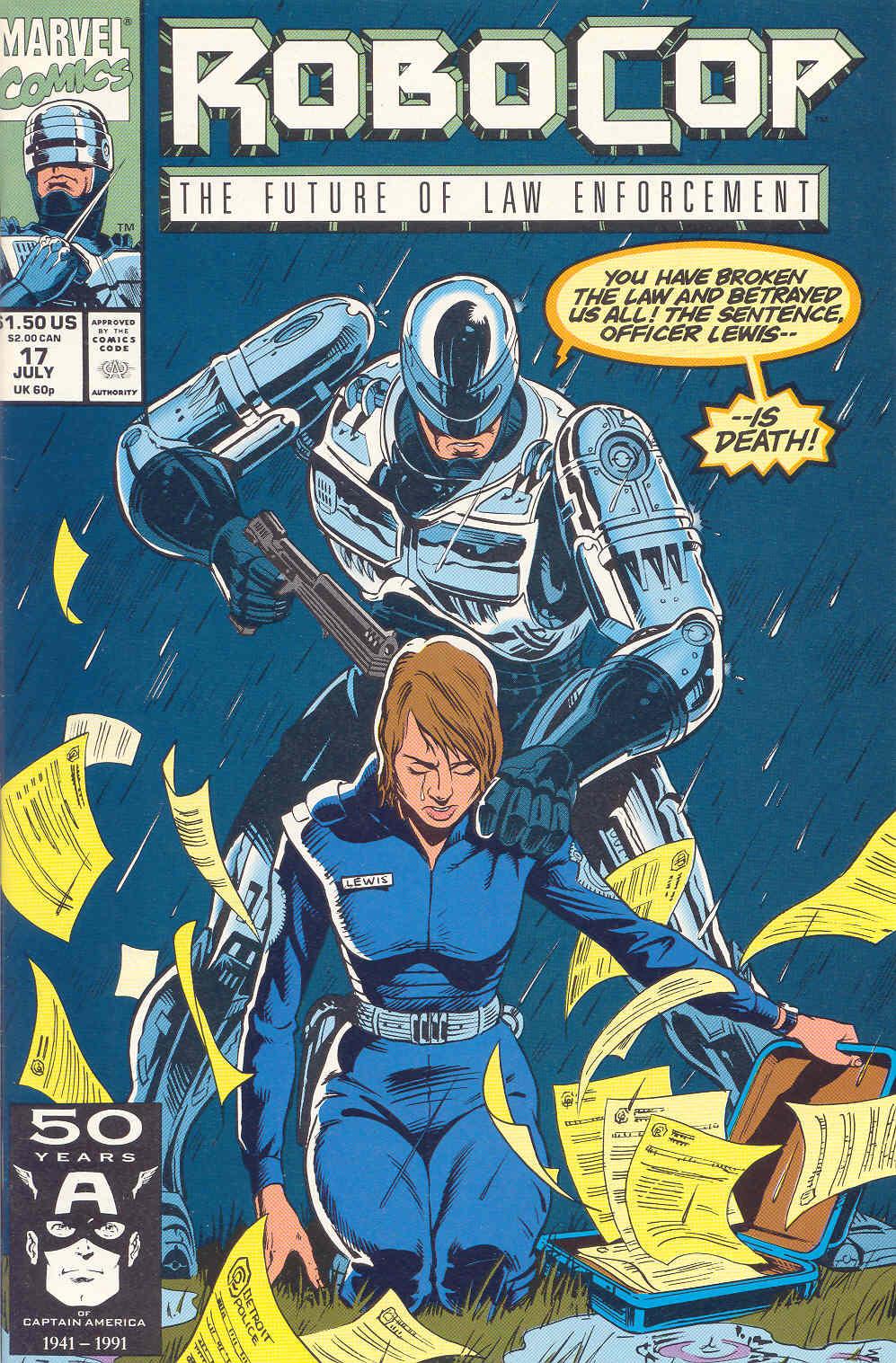 Read online Robocop (1990) comic -  Issue #17 - 1