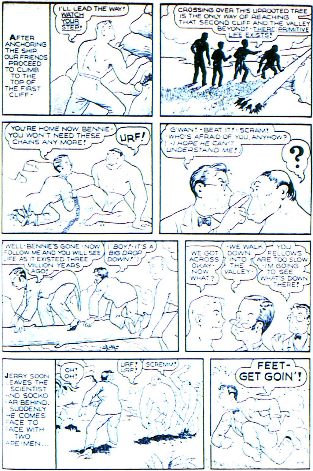 Read online Adventure Comics (1938) comic -  Issue #42 - 31