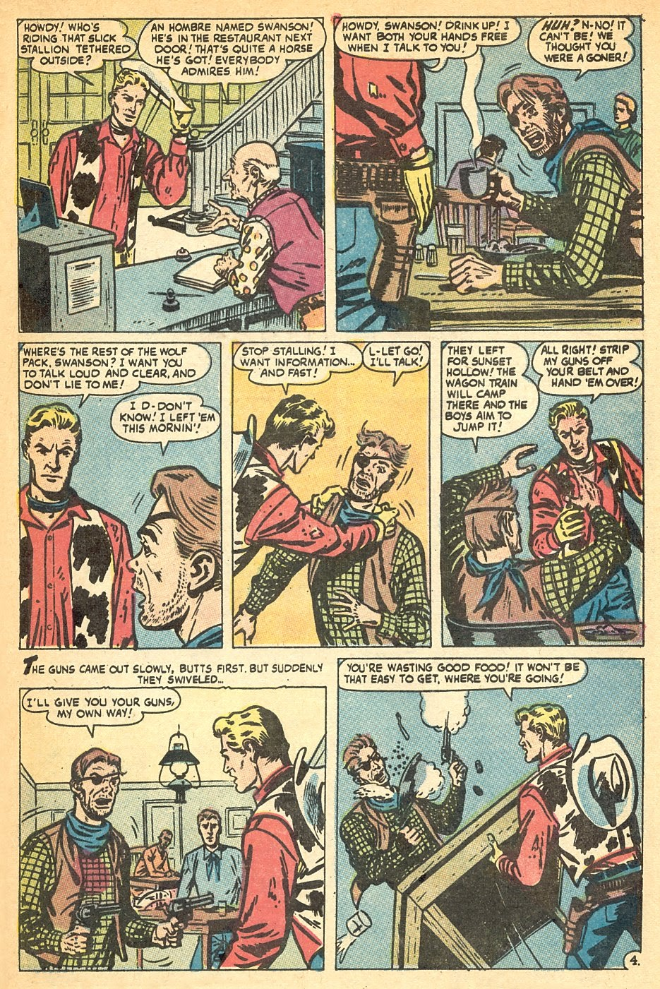 Kid Colt Outlaw issue 140 - Page 21