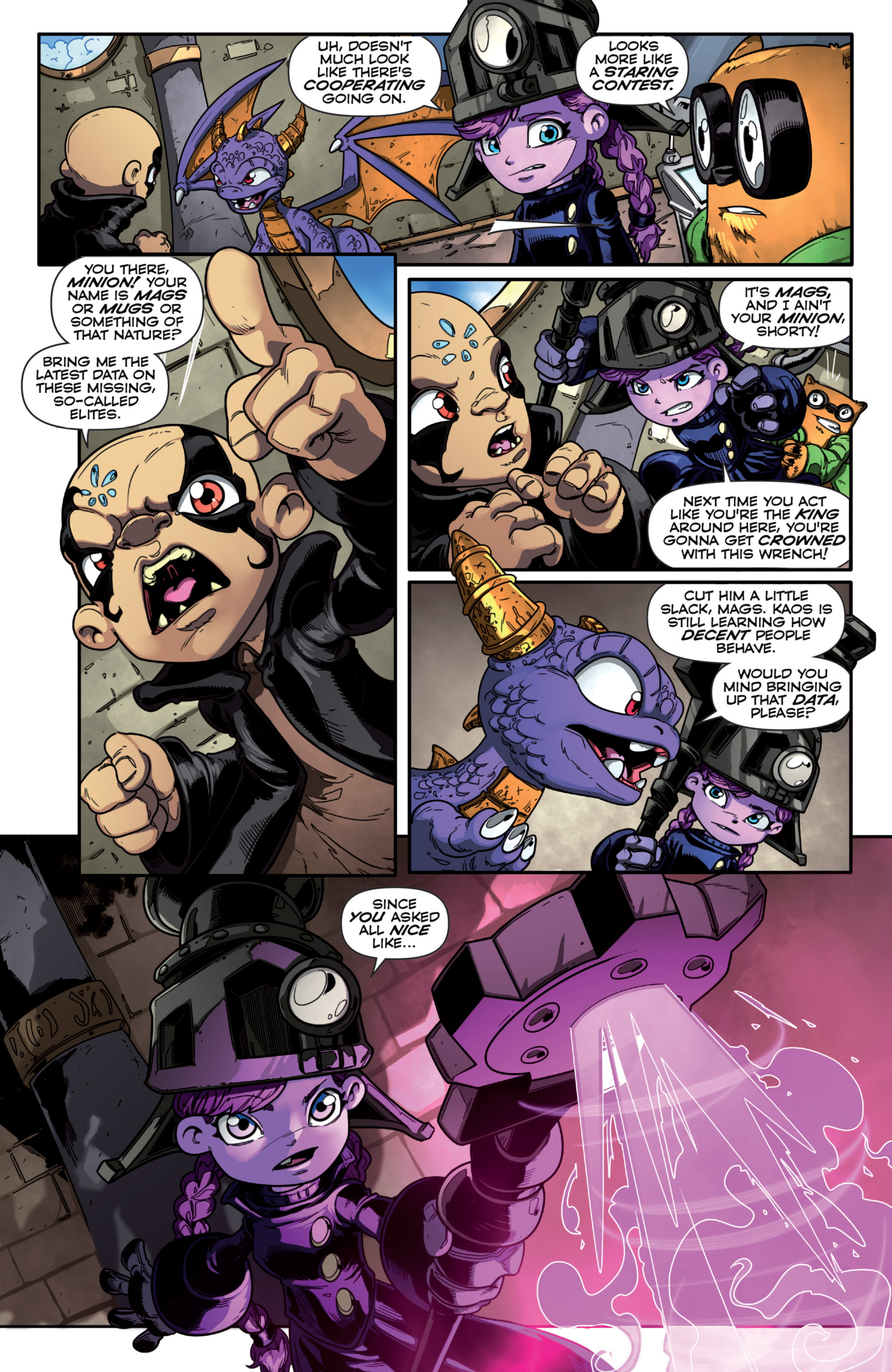 Read online Skylanders Superchargers comic -  Issue #1 - 6