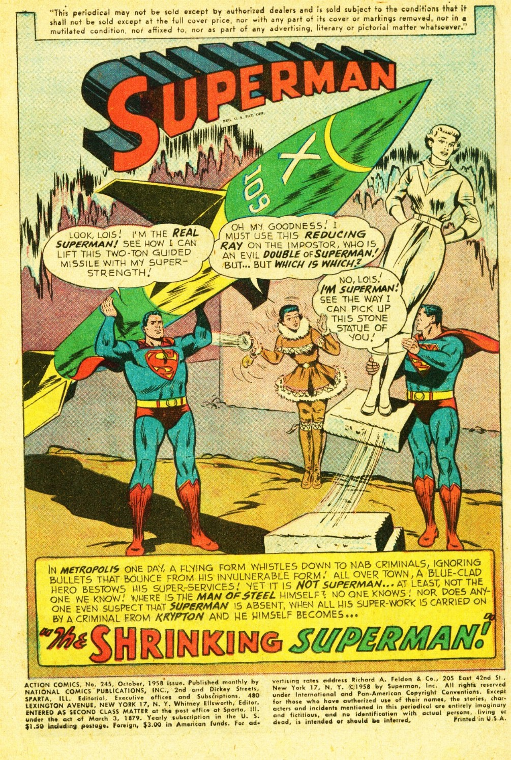 Read online Action Comics (1938) comic -  Issue #245 - 3