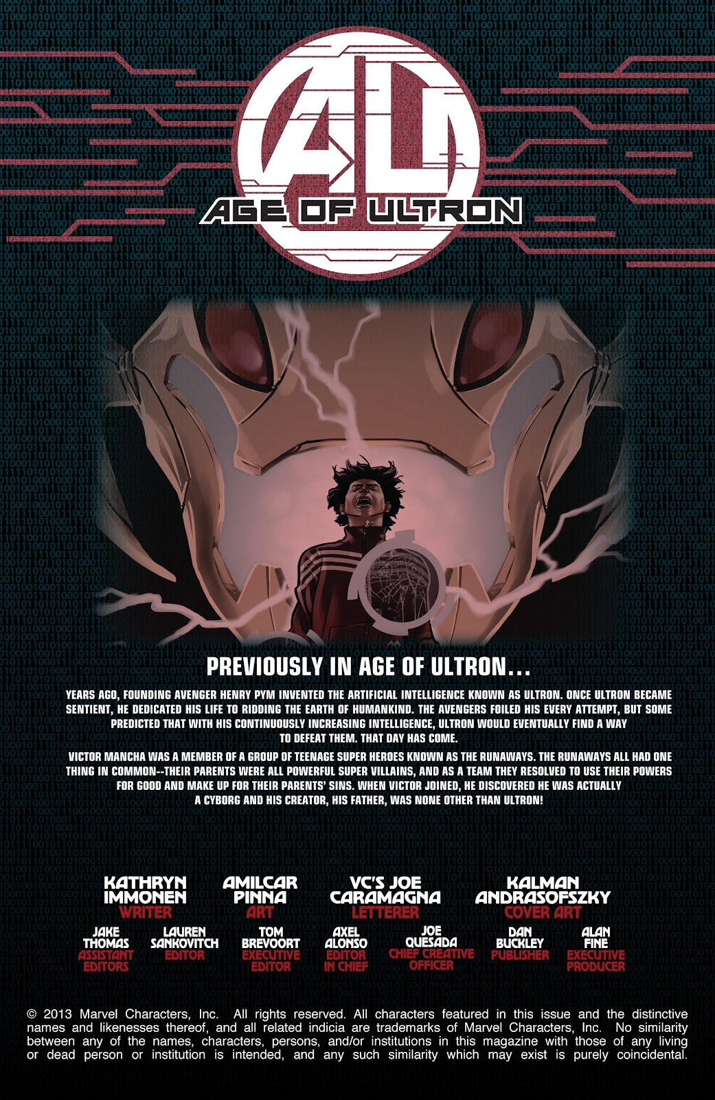 Read online Age of Ultron Companion comic -  Issue # TPB (Part 1) - 94