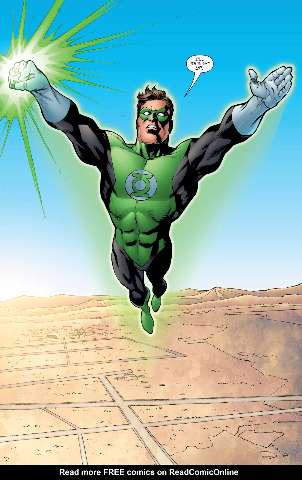 Read online Green Lantern by Geoff Johns comic -  Issue # TPB 1 (Part 4) - 6