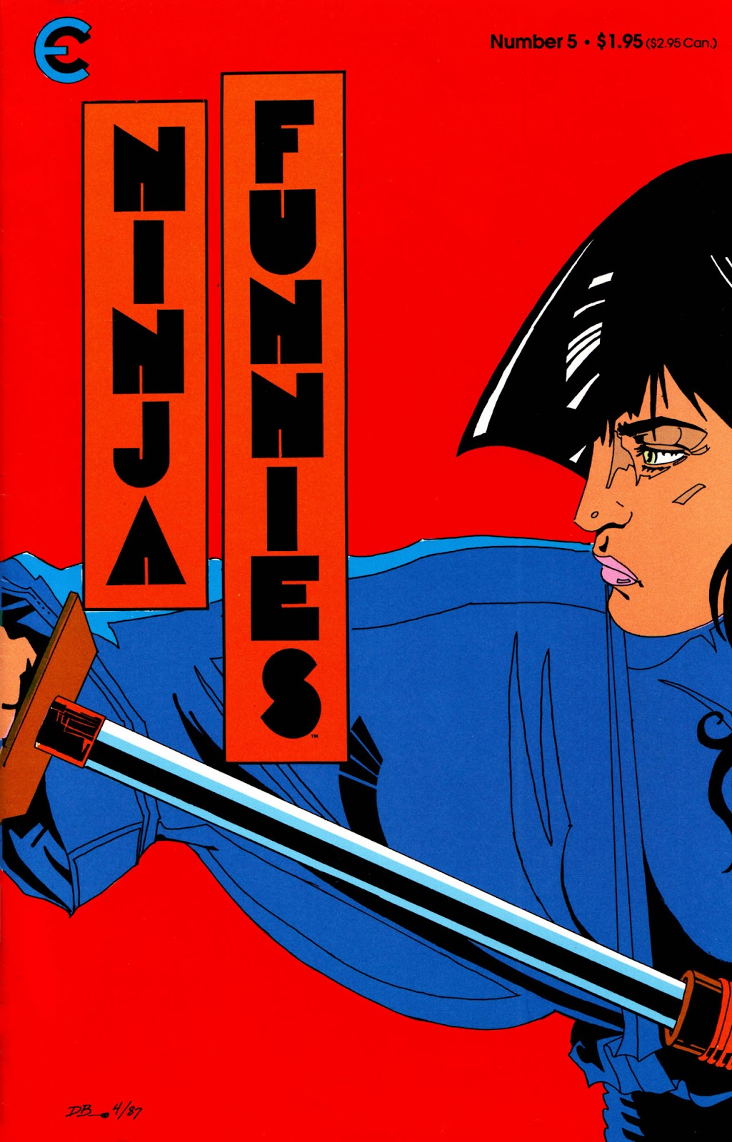 Ninja Funnies issue 5 - Page 1