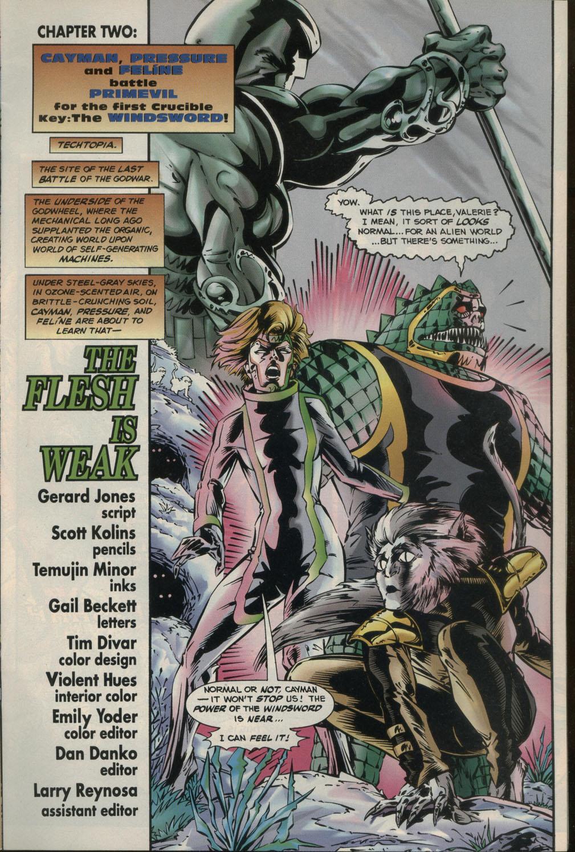 Read online Godwheel comic -  Issue #2 - 12
