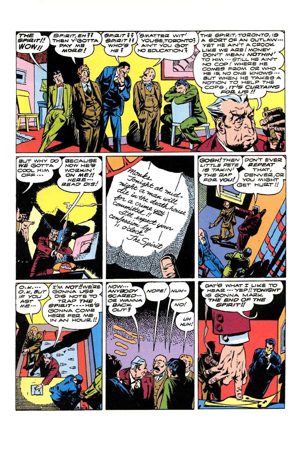 Read online Will Eisner's The Spirit Archives comic -  Issue # TPB 3 (Part 2) - 40