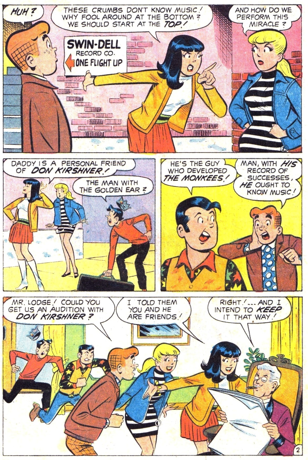 Read online Archie (1960) comic -  Issue #189 - 4