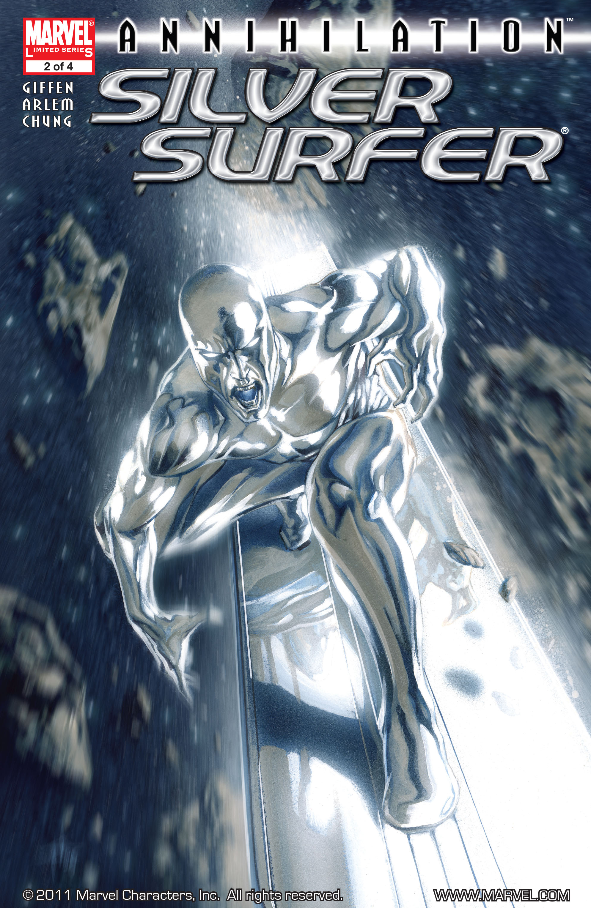 Read online Annihilation: Silver Surfer comic -  Issue #2 - 1