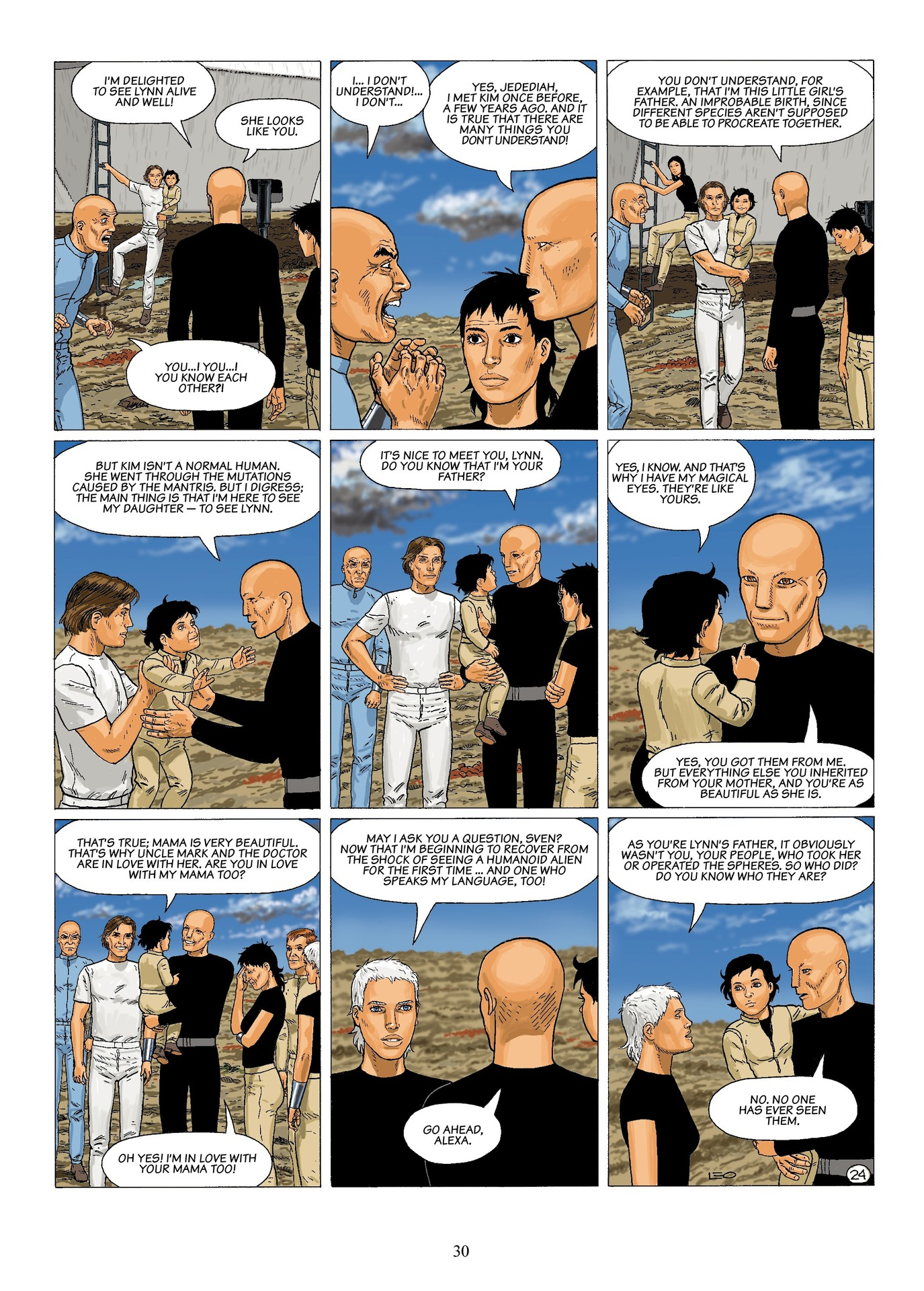 Read online Antares comic -  Issue #6 - 32