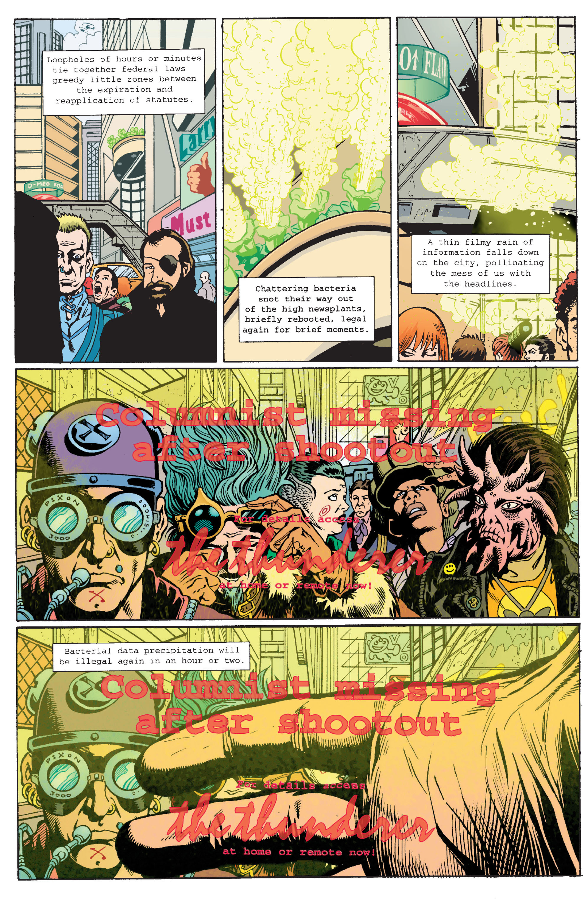Read online Transmetropolitan comic -  Issue #11 - 12