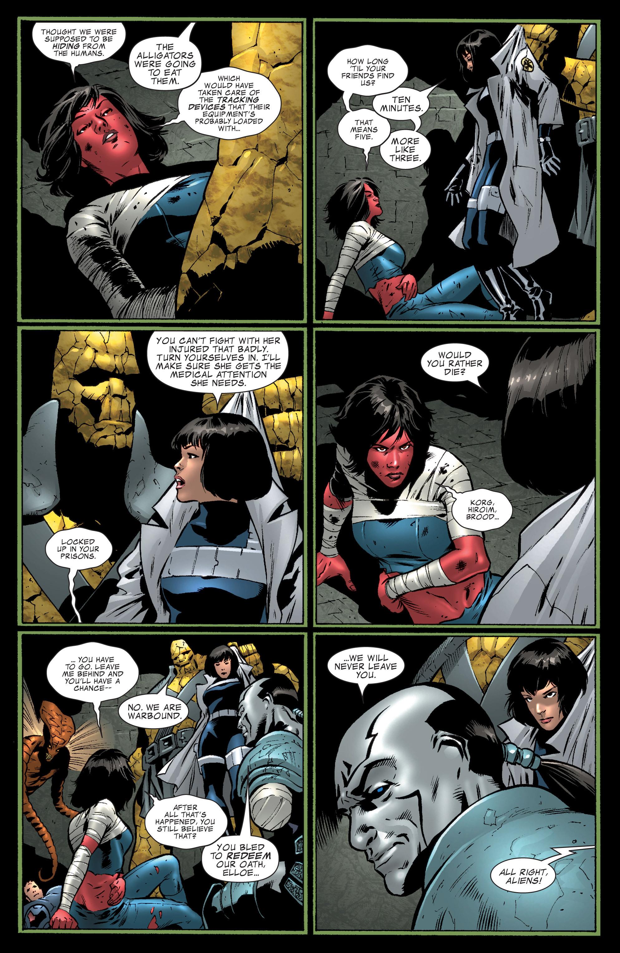 Read online World War Hulk Aftersmash: Warbound, Vol. 1 comic -  Issue #1 - 6