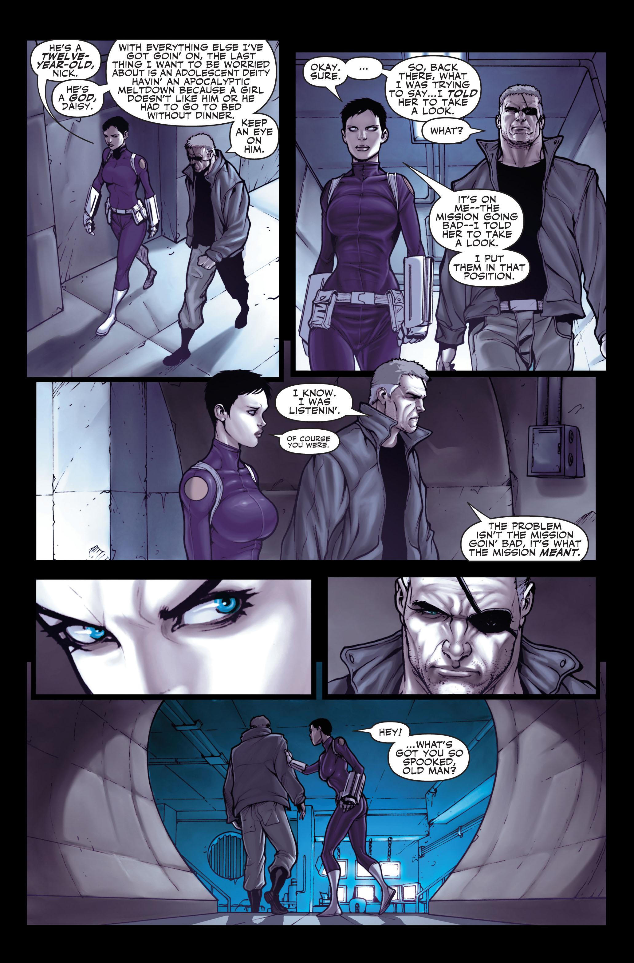 Read online Secret Warriors comic -  Issue #1 - 15